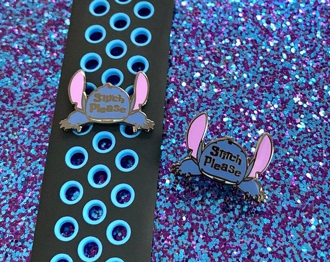 STITCH PLEASE Enamel Pin & 'Wristband Candy'