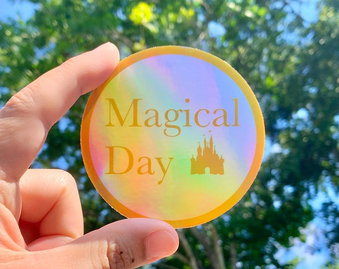 Magical Day Holographic Sticker