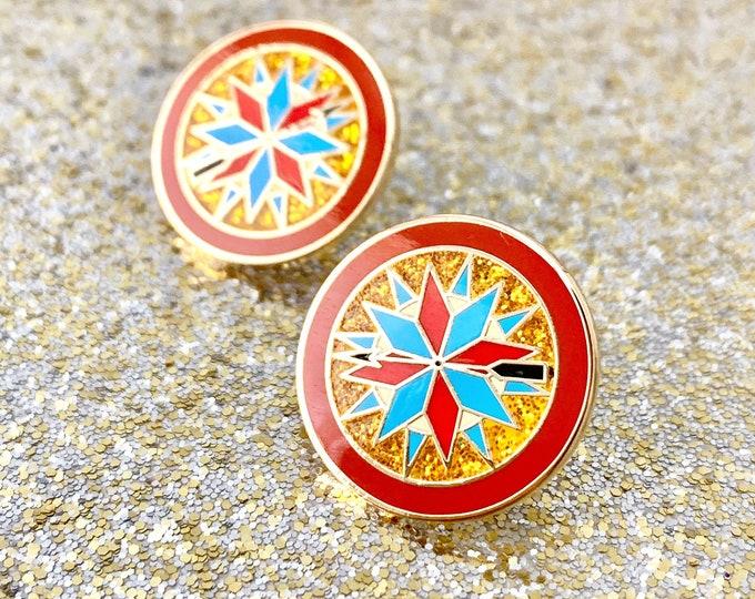 Princess Sparkle 'Pocahontas Sparkle' Enamel Pin