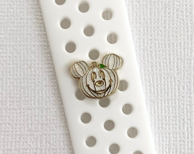 White PUMPKIN Mr. Mouse 'Wristband Candy' & Sticker (Limited Edition)
