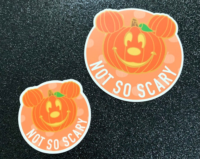 Not So Scary Mr. Mouse Sticker & Magnet (LIMITED EDITION)