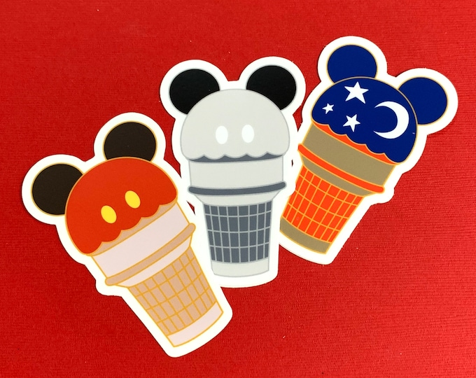 Mr. Mouse Cone Stickers
