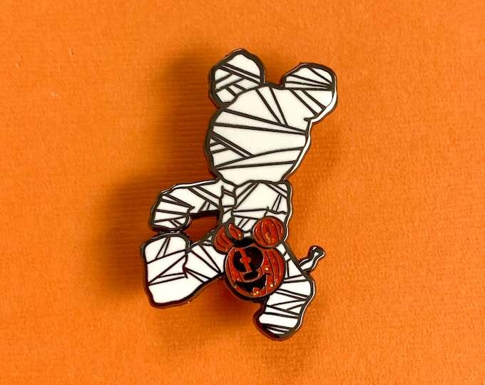 MUMMY Mr. Mouse Enamel Pin