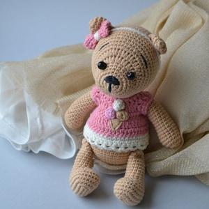 Gold teddy bear Personalised teddy bear Birthday teddy bear Soft teddy bear Nursery teddy bear Teddy art decor Dreamy gold bear Fabric bears