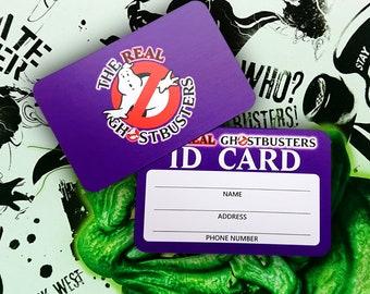 Real Ghostbusters Membership Card