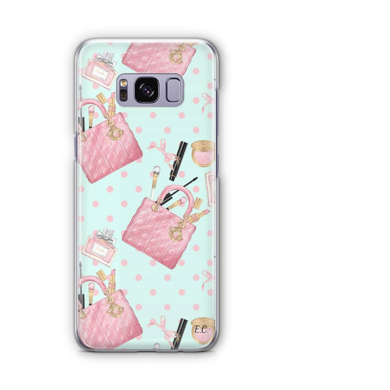 promo code 8d4ac a4aab Girly Thing Samsung S8 Case Cute Samsung S8 Plus Case Cute Samsung S8 Case  Flower Samsung S8 Plus Flower Samsung S8 Chanel Samsung Case