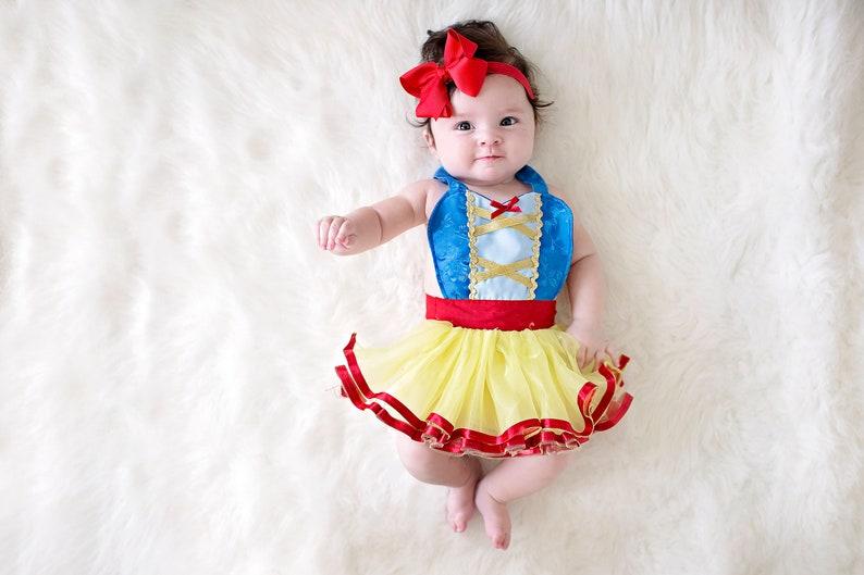 58f5c8d26 SNOW WHITE costume baby Snow White dress Snow White baby | Etsy