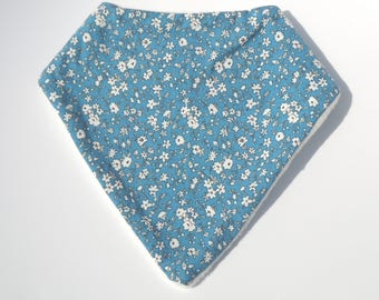 """Anti-bavouille"" liberty blue bandana"