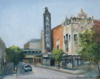 Uptown - Original Plein air Painting