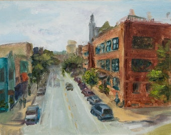 606 - Original Plein air Painting