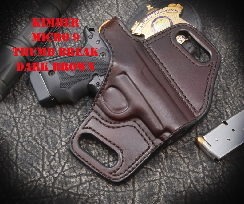 Kimber Micro 9 With Laser Holster