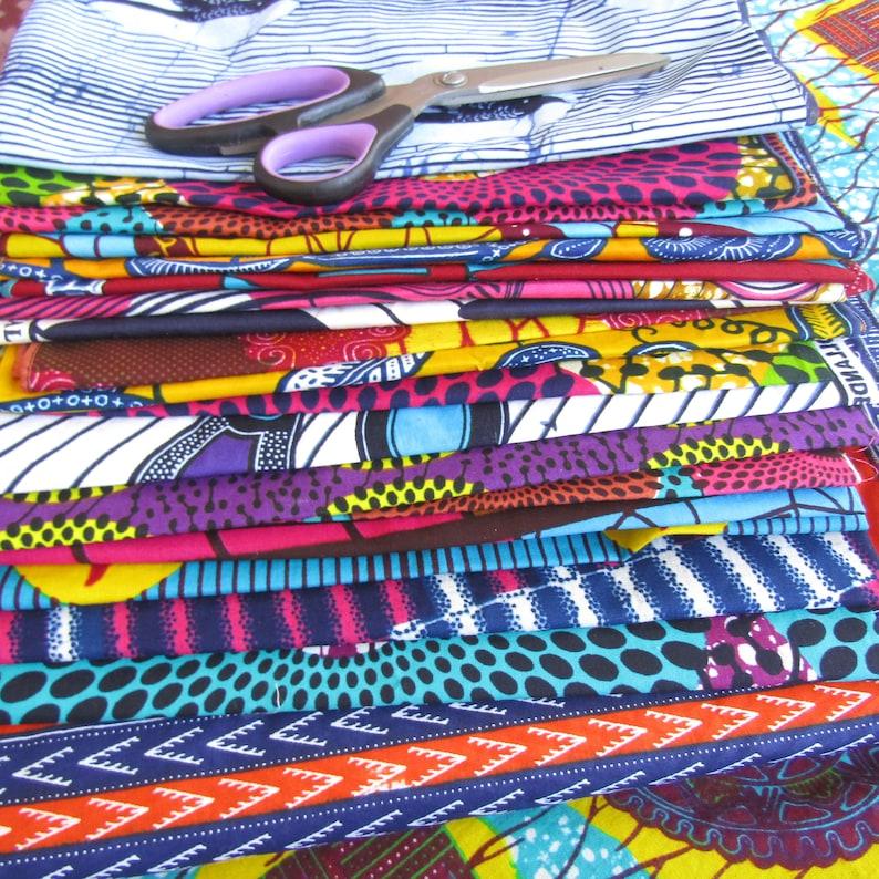 free shipping Quilting fabric African fabric Africa craft lot fat quarter Fat quarters bundles Ankara fabric 20 Pieces Fat quarter