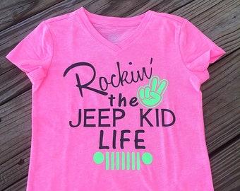 Rockin the jeep kid life
