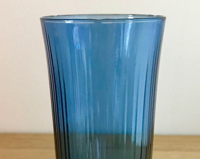 Tapio Wirkkala Blue Drinking Glass (model 2065) - Finnish Vintage Design From Iittala, Finland