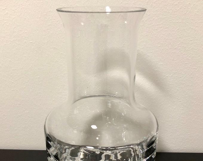 Tapio Wirkkala 'Gaissa' Carafe - Finnish Vintage Glass Design From Iittala, Finland