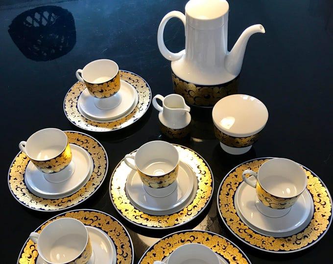 Tapio Wirkkala 'Composition Opus' Rosenthal Studio Line Coffee set - Finnish Mid-Century Modern Vintage Design From Rosenthal, Germany