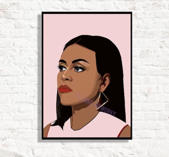 Michelle Obama Poster Print