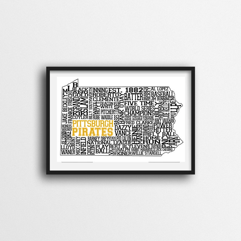 photo about Pittsburgh Pirates Printable Schedule named Pittsburgh Pirates Printable Wall Artwork