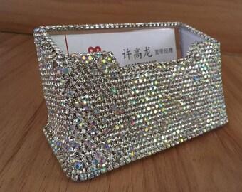 shining business card case