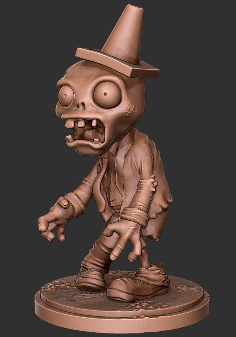 Zombie Desk Toy 3D print ready file (OBJ & STL)