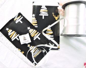 assorted Christmas tag set gift Christmas 12 x 20 cm.