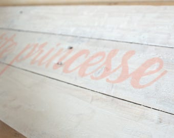 Pallet painting - Wall decor - my little Princess