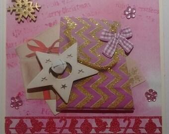 """Bonne"" roses, 3D gift card"
