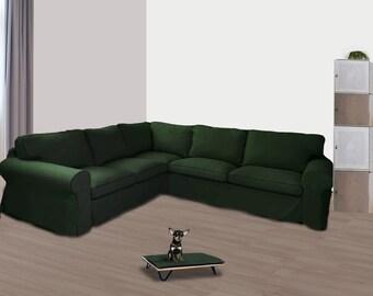Fantastic Ektorp Slipcover Etsy Theyellowbook Wood Chair Design Ideas Theyellowbookinfo
