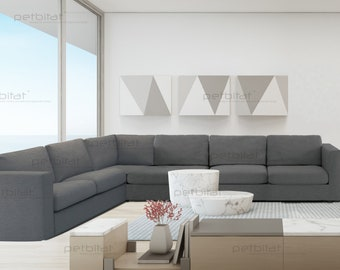 Sectional Couch Covers.Sectional Couch Cover Etsy