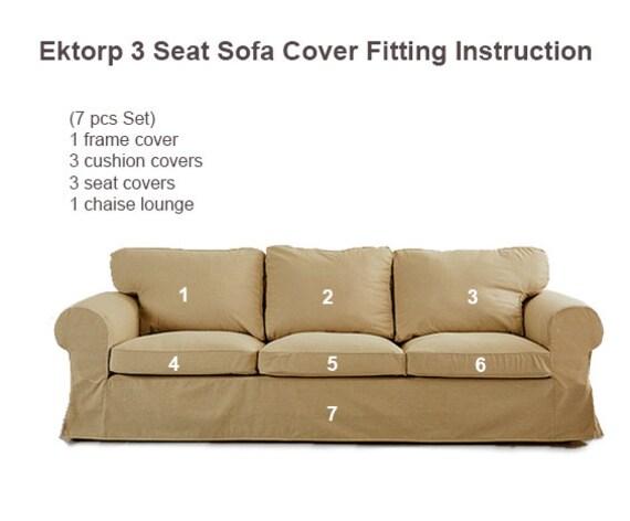 Tremendous Ektorp Cover Ikea Ektorp 3 Seat Sofa Cover Ektorp Slipcover Ektorp Replacement Cover Ektorp Slipcover Ikea Sofa Cover Custom Made Theyellowbook Wood Chair Design Ideas Theyellowbookinfo