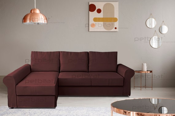 Backabro Cover Ikea Backabro Sofa Bed With Chaise Longue Cover Backabro Replacement Cover Slipcover Couch Cover Backabro Custom Made