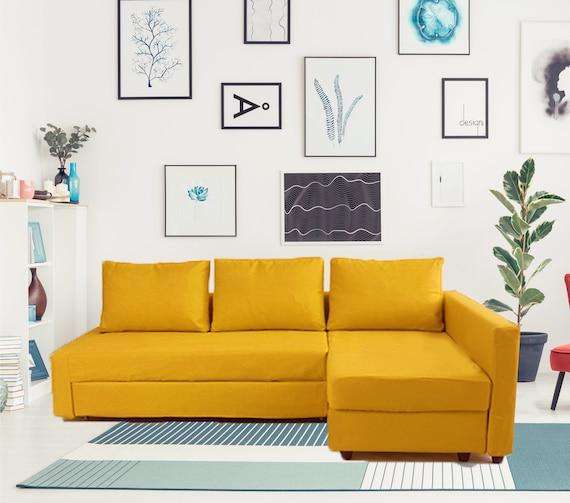 Ikea Hoekslaapbank Manstad.Friheten Cover Friheten Corner Sofa Cover Friheten Etsy