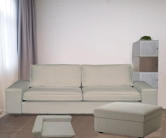 Ikea Kivik 3 5 Seat Sofa Cover Kivik Replacement Cover Ikea Etsy