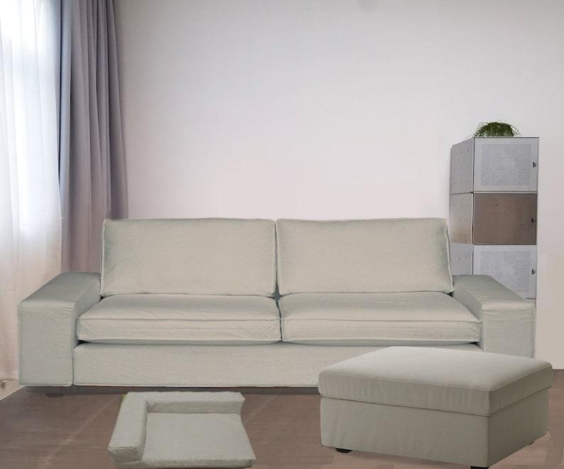 Ikea Kivik 3. 5 Seat Sofa Cover, Kivik Replacement Cover, Ikea Kivik  Slipcover, Ikea Kivik Sofa Cover, Kivik Couch Cover,Kivik Ottaman Cover