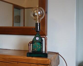 Hand Made Steampunk Lamp