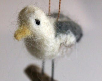 Felted Seagull