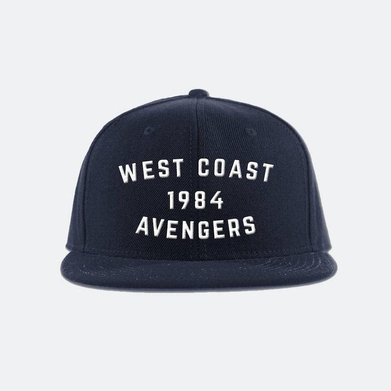 f1f4ae7736509 West Coast Avengers Inspired Snapback Hat