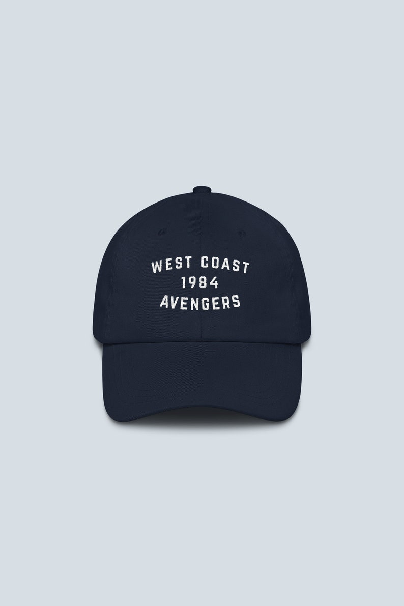 c061cf69b West Coast Avengers Dad Hat - Marvel Superheroes Avengers End Game Hulk  Captain America Iron Man