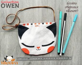 Small satchel Bag, OWEN the little fox, bag for children