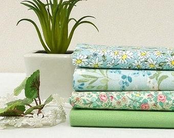 3 x Cotton fabric Fat Quarters BUNDLE  PACKAGE Spring Panda grey quarter JP43