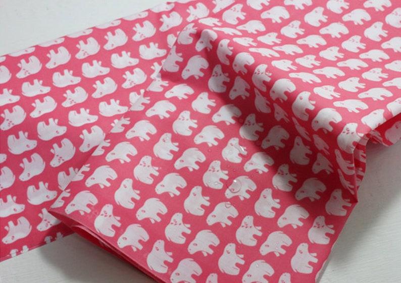 Camping animals Laminated fabric Oilcloth WATERPROOF caravan tablecloth JLW38