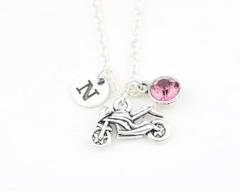 Motor Scooter Necklace VERY SMALL Moped Necklace Motor Bike Necklace Scooter Jewelry Boyfriend Necklace Scooter Gift Silver Pendant Necklace