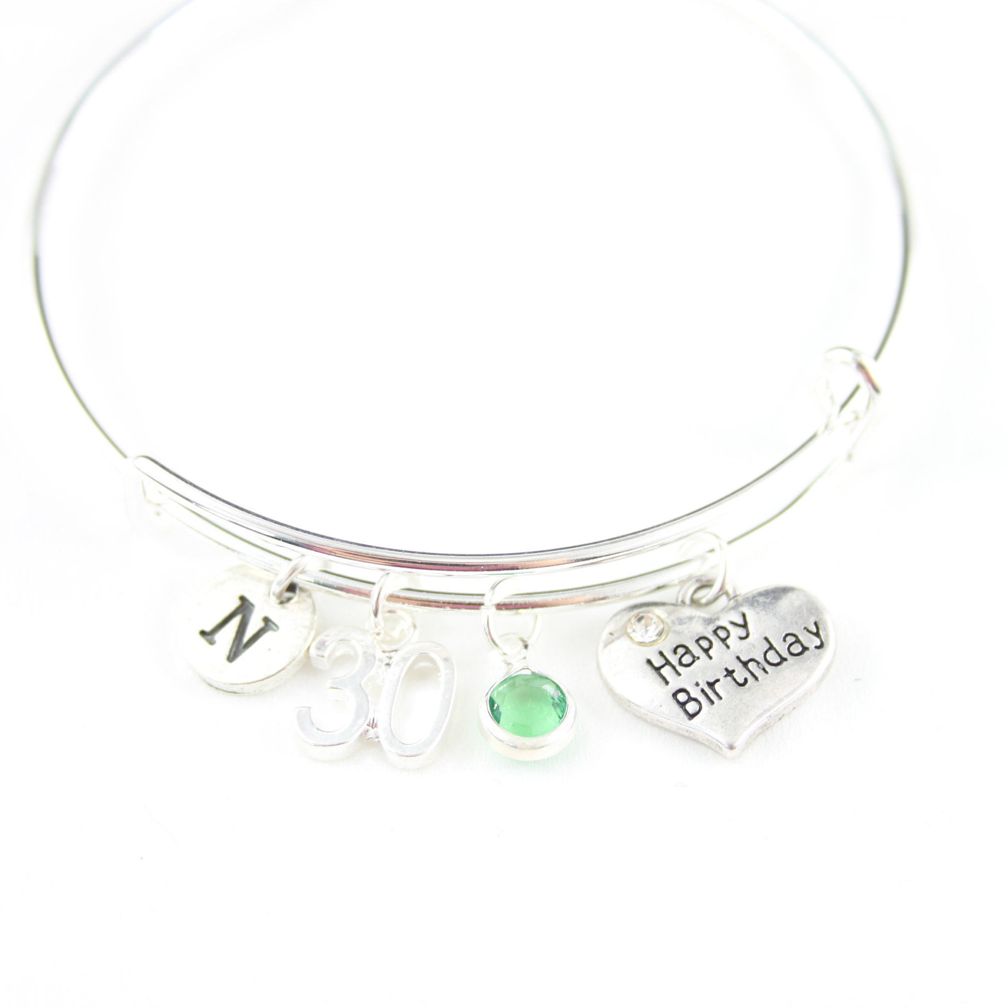 30th Birthday Gift For Woman Bracelet Friend Personalized Gifts Her Dirty 30
