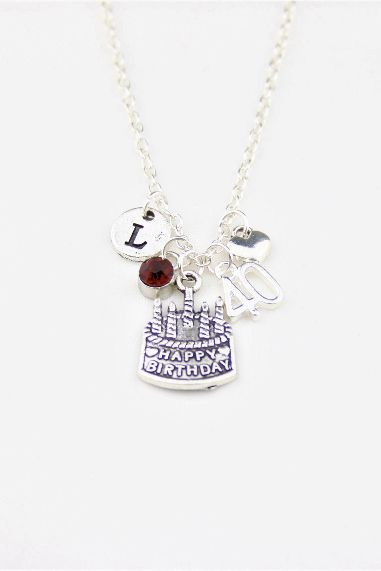 40th Birthday Gifts For Woman Gift Best Friend Her Jewelry 40 And Fabulous