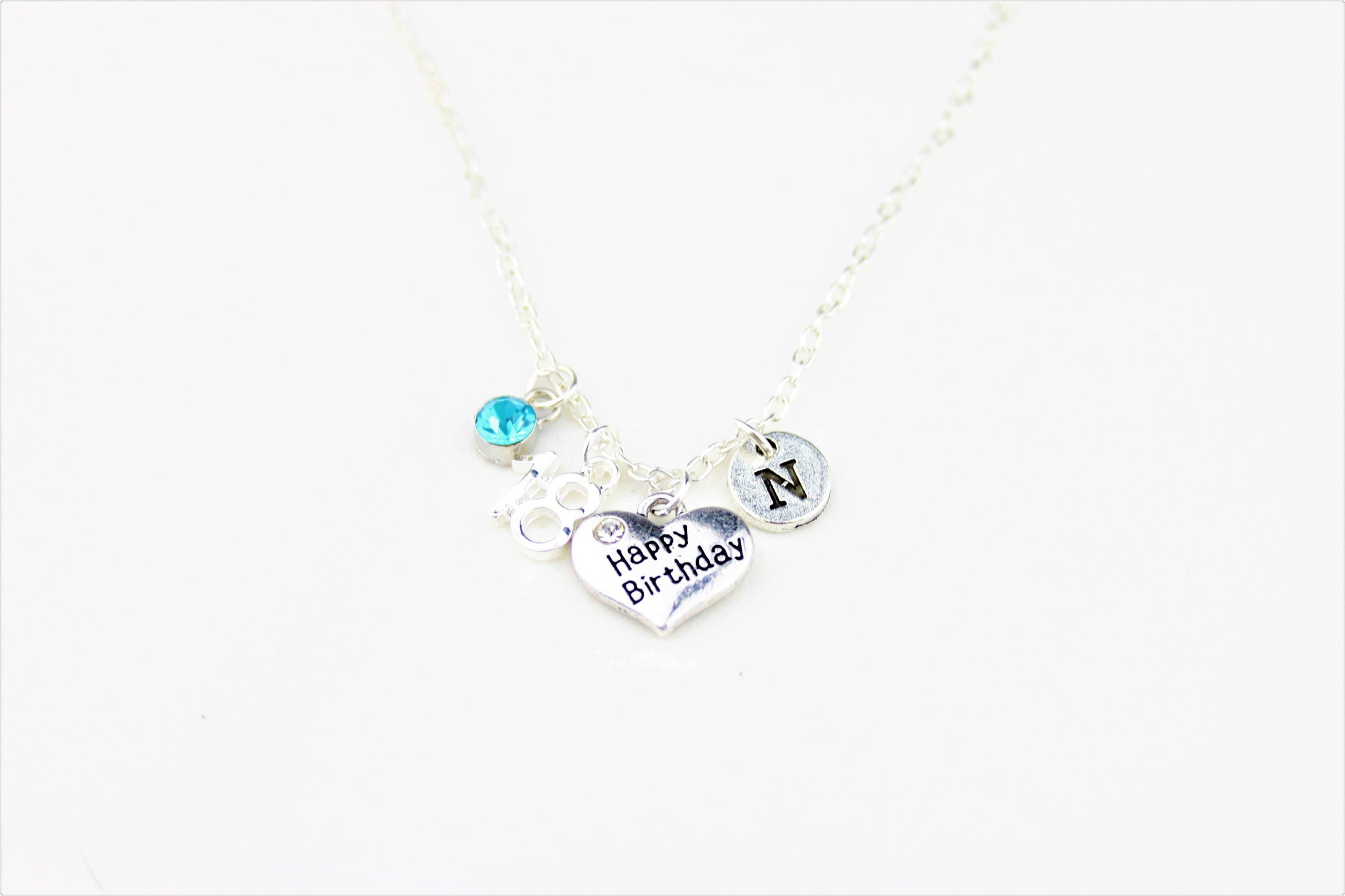 18th Birthday Necklace Gift To Cousin Daughter Sister Friend Necklac