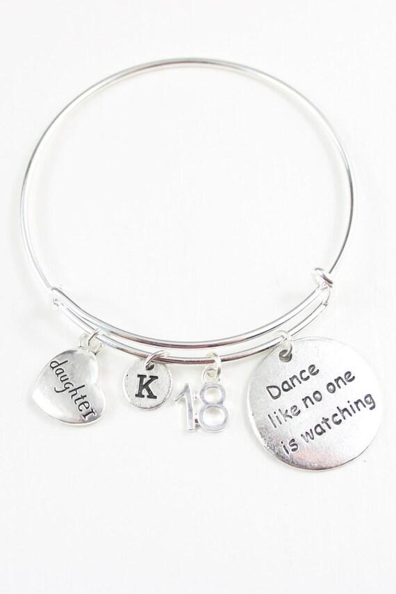 18th Birthday Gift For Daughter Bracelet 18
