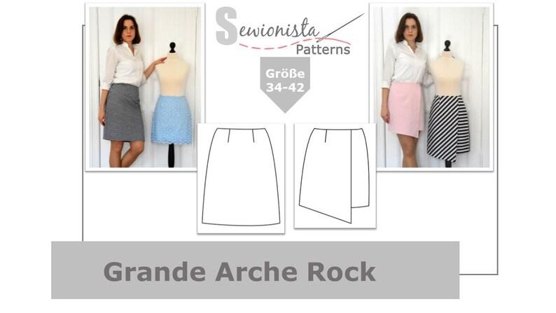 E-Book  Grande Arche Rock klassisch & Wickelrock image 0