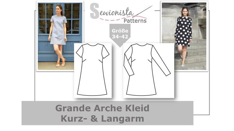E-Book  Grande Arche Kleid Kurzarm & Langarm image 0