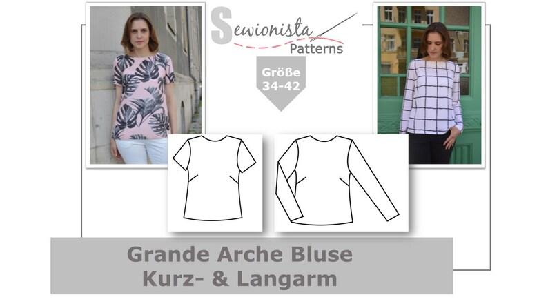 E-Book  Grande Arche Bluse Kurzarm & Langarm image 0