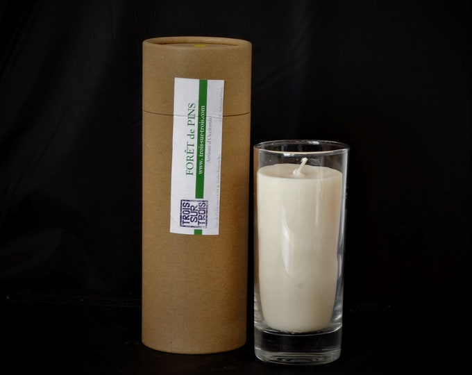 Rapeseed wax candles with essential oils IS20